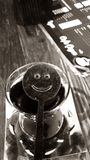 Thé de sourire photos libres de droits