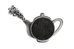 thé de tamis Images stock