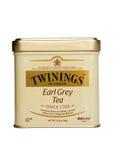 Thé de Twinings Earl Grey d'isolement Photographie stock libre de droits