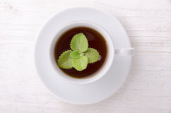 thé en bon état noir Le thé le plus de première qualité Image stock