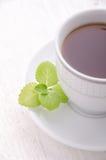 thé en bon état noir Le thé le plus de première qualité Images libres de droits