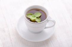 thé en bon état noir Le thé le plus de première qualité Images stock