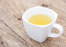 thé en verre de cuvette Photographie stock libre de droits