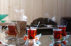 Thé et café Image libre de droits