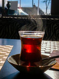Thé et extérieur Photos libres de droits