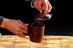 thé figé de Chinois Images stock