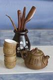 thé figé de Chinois Photos stock