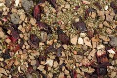 Thé floral de fines herbes de fruit Image stock