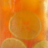 Thé glacé comme fond Image stock
