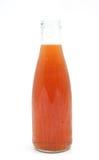 Thé glacé dans une bouteille Image stock