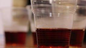 Thé noir, échantillon, production de thé en Russie clips vidéos
