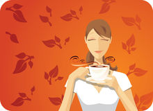 thé noir Photographie stock libre de droits
