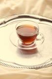 Thé noir dans le lit Le thé le plus de première qualité Images libres de droits