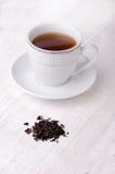 Thé noir Le thé le plus de première qualité chaque jour Photographie stock libre de droits