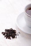 Thé noir Le thé le plus de première qualité chaque jour Photos libres de droits