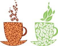 Thé ou café Photo libre de droits