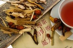 Thé pour la médecine de chinois traditionnel Photo libre de droits