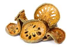 Thé sec de fruit de Bael Images stock