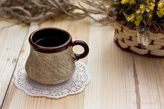 Thé sur la table Image libre de droits