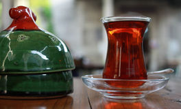 Thé turc Photos libres de droits