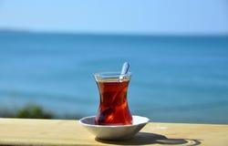 Thé turc Photographie stock libre de droits