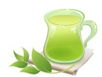 Thé vert Image stock