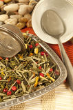 thé vert aromatique Image stock