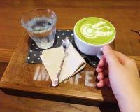 Thé vert chaud Photo libre de droits
