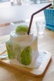 Thé vert de glace Photographie stock libre de droits