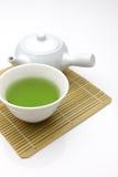 Thé vert de Jananese photos stock