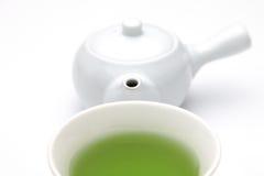 Thé vert de Jananese photographie stock