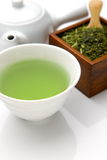 Thé vert de Jananese image stock