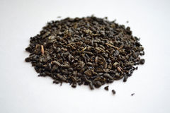 Thé vert de poudre chinoise Images stock
