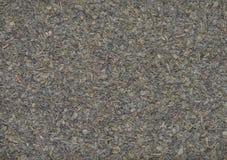 Thé vert sec avec la texture en bon état Image libre de droits