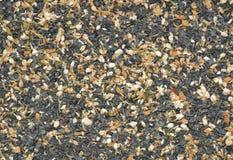 Thé vert sec avec la texture en bon état Photos libres de droits