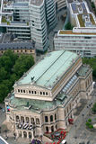 Théatre de l'opéra à Francfort Images libres de droits