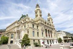 Théatre de l'opéra à Monte Carlo, Monaco Photos stock