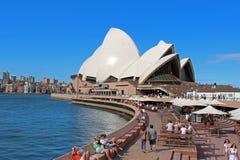 Théatre de l'opéra à Sydney photo libre de droits