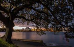 Théatre de l'opéra à Sydney Images libres de droits