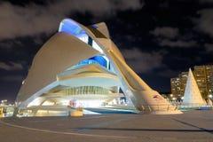 Théatre de l'opéra à Valence, Espagne Photographie stock libre de droits