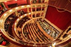 Théatre de l'opéra à Wroclaw, Pologne photographie stock libre de droits