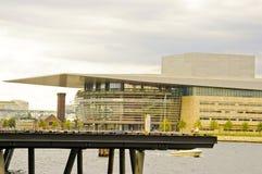 Théatre de l'$opéra, Copenhague photo stock