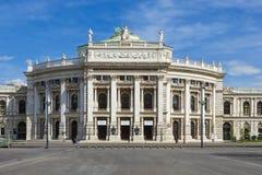 Théatre de l'opéra d'état de Vienne - le Hofburg Photo libre de droits