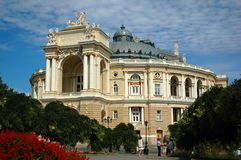 Théatre de l'$opéra d'Odessa Image stock