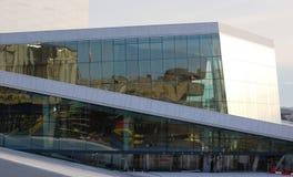 Théatre de l'$opéra d'Oslo Images libres de droits