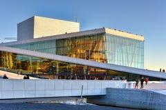 Théatre de l'opéra d'Oslo - Norvège Images stock