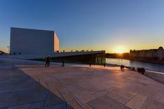 Théatre de l'opéra d'Oslo - Norvège Photo libre de droits
