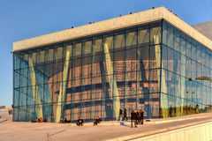 Théatre de l'opéra d'Oslo - Norvège Images libres de droits