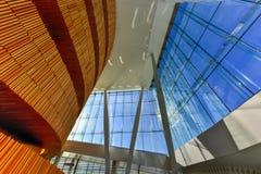 Théatre de l'opéra d'Oslo - Norvège Image libre de droits
