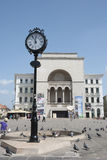 Théatre de l'opéra dans Timisoara, Roumanie Images stock